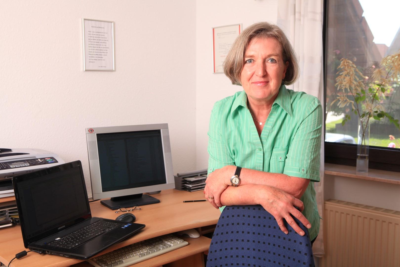 1-Gisela2014_029 Arbeitsplatz